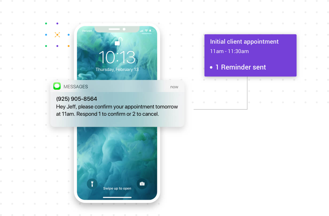 Apptoto provides appointment reminders