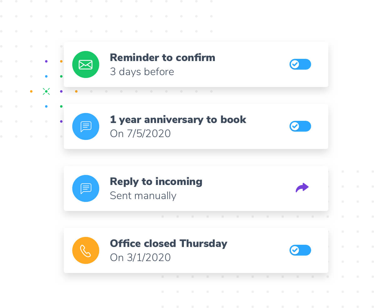 Business messaging with Apptoto